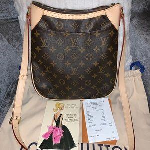Louis Vuitton Odeon PM new Vachetta crossbody bag